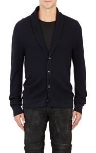 Ralph Lauren Black Label Waffle-Stitched Cardigan