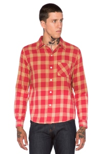 FUCT Faded Flannel Shirt